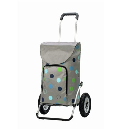 Image of Royal Shopper Kira (Med Lufthjul) - Indkøbsvogn Trolley på hjul sølv