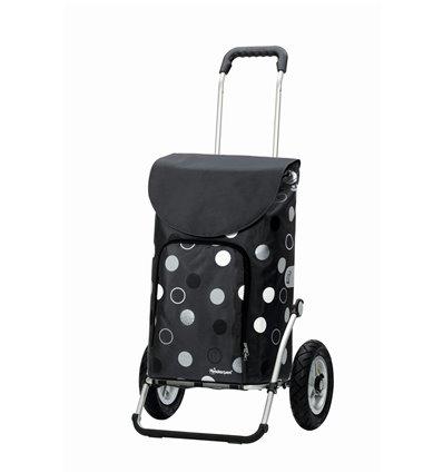 Image of Royal Shopper Kira (Med Lufthjul) - Indkøbsvogn Trolley på hjul grå