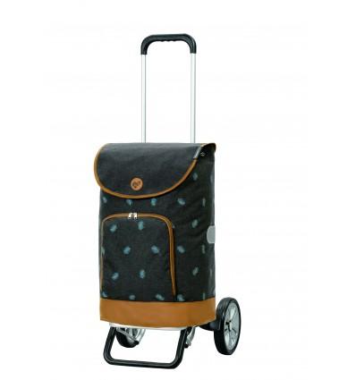Alu Star Shopper Holm - Indkøbsvogn Trolley på hjul