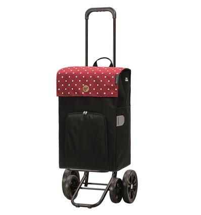 Quattro Shopper Malit - Indkøbsvogn Trolley på hjul