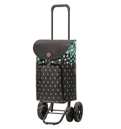 Quattro Shopper Lily - Indkøbsvogn Trolley på hjul