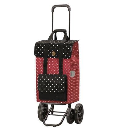 Quattro Shopper Rul - Indkøbsvogn Trolley på hjul