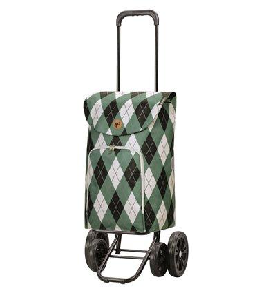 Quattro Shopper Arik - Indkøbsvogn Trolley på hjul