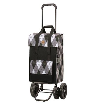 Quattro Shopper Ine - Indkøbsvogn Trolley på hjul