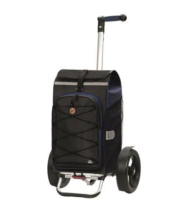 Tura Shopper Fado 2.0 - Indkøbsvogn Trolley på hjul med ergonomisk håndtag
