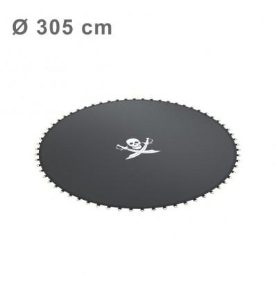 Springmåtte til trampolin Ø 490 cm (64 fjedre)